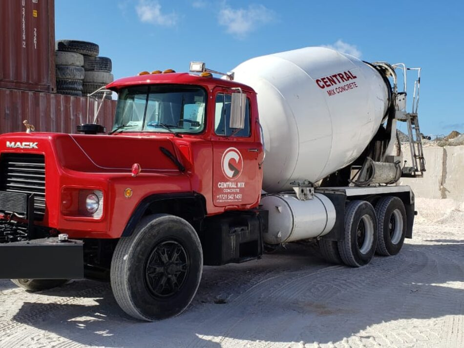 Central-Mix-Concrete-Model-Truck