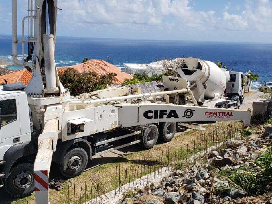 Central-Mix-Concrete-Pump-truck-Mixer