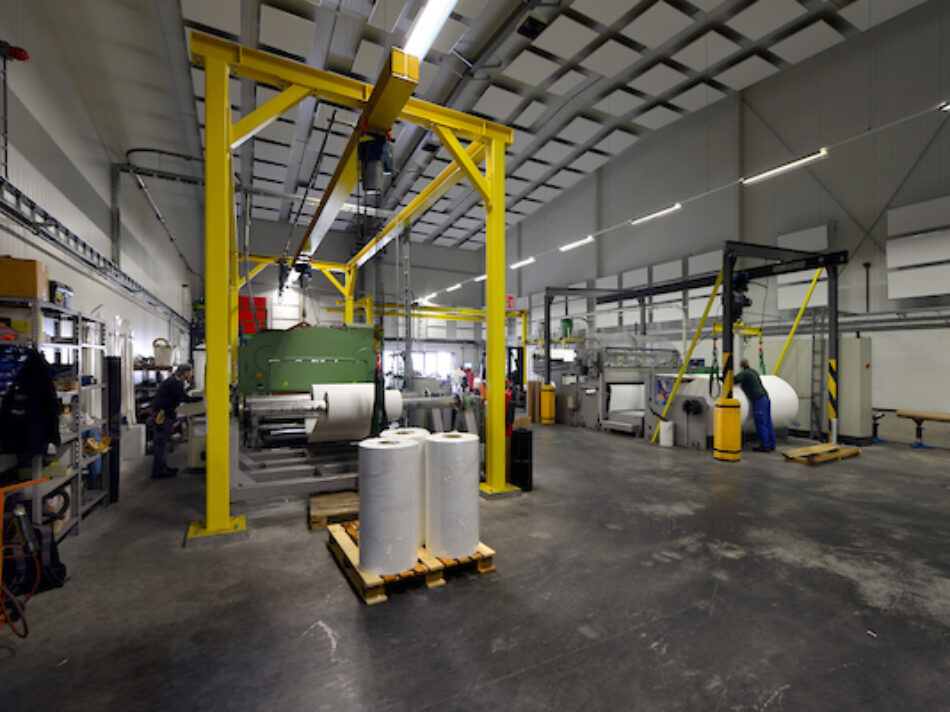 Productiehal met magazijn voor Ekon in Born. - Remco Ruimtebouw