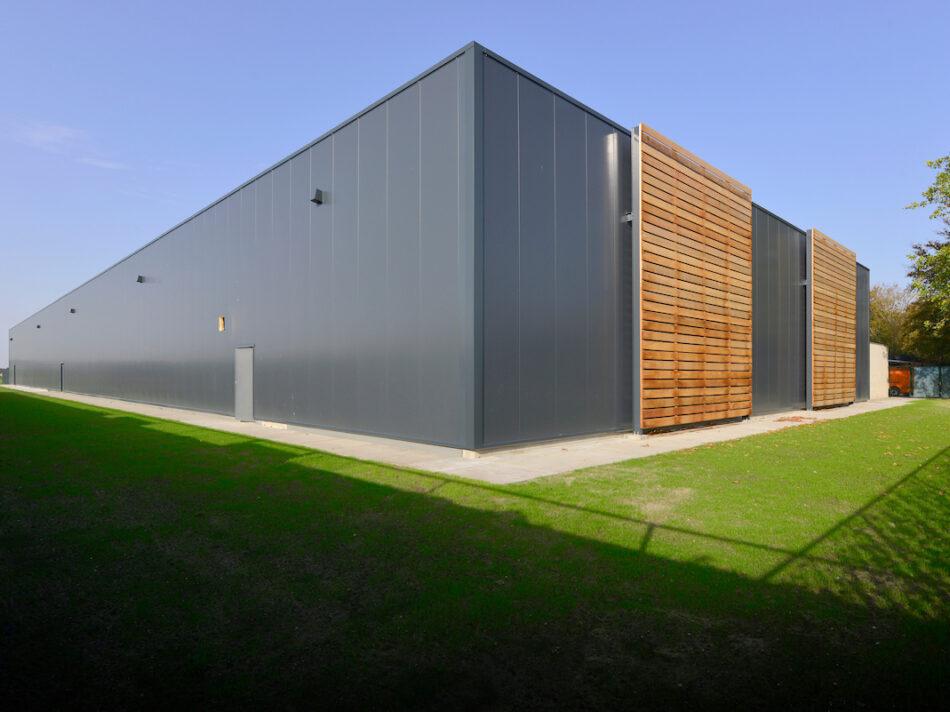 Bedrijfsruimte met kantoor, 568 m2 - Remco Ruimtebouw